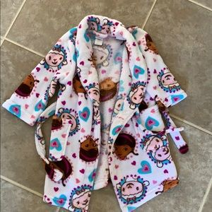 Doc McStuffins Robe with Ties and Pockets